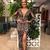Gorgeous Backless Prom Dresses, V-Neck Black Prom Evening Dress, Prom Dress with