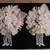 2 x Stunning Handmade Shabby Chic Tassel Flowers