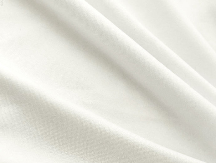 White 100% Cotton Craft Fabric by Westfalenstoffe ideal for quilting, patchwork,