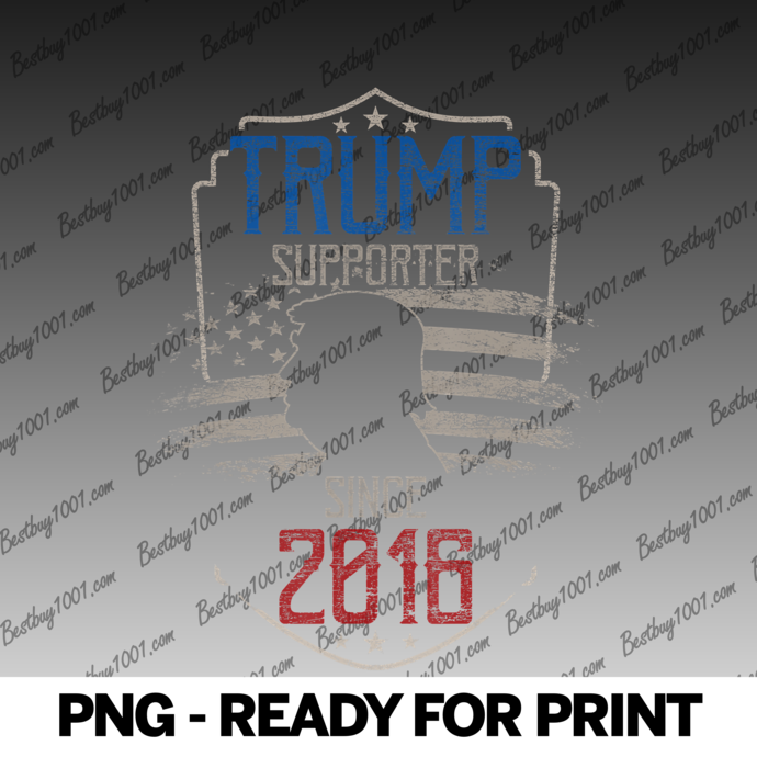 Donald Trump Supporter Since 2016 - Patriotic Election 2020