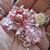 Gorgeous Floral Applique Cluster - Please Choose Colour