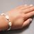 Opalite bracelet Opalite jewelry String bracelets for women 40th birthday gift