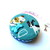 Tape Measure Mixed Dogs on Teal Small Retractable Measuring Tape