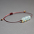 Opalite beaded bracelet Opalite jewelry Dainty opalite stone bracelet Cord