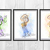 Toy Story Set, Woody, Buzz, Jessie Disney, Toy Story print, poster, home decor,