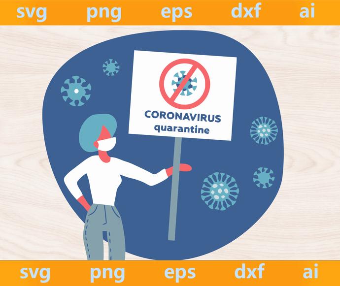 Coronavirus svg, Corona virus svg, Corona Virus svg, coronavirus clipart, Virus