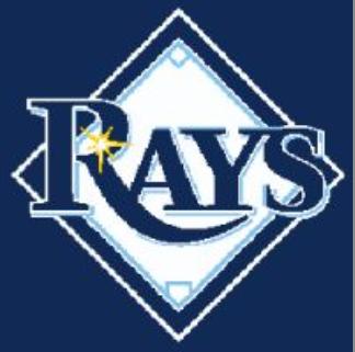 Tampa Bay Rays Knit Chart