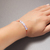 Opalite bracelet Opalite jewelry Opalite crystal Dainty beaded gemstone bracelet
