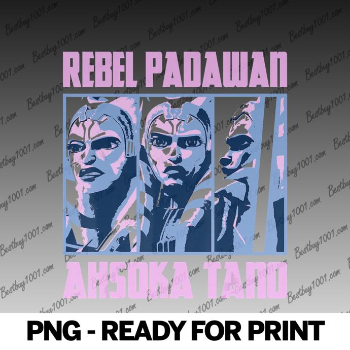 Star Wars The Clone Wars Ahsoka Tano Rebel Padawan Panels png