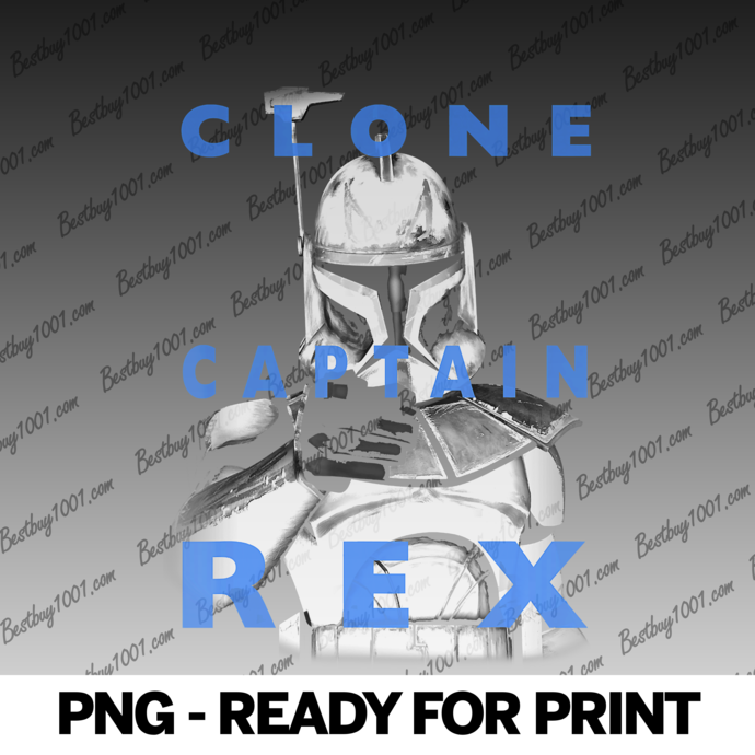 Star Wars The Clone Wars Clone Captain Rex Text Overlay png