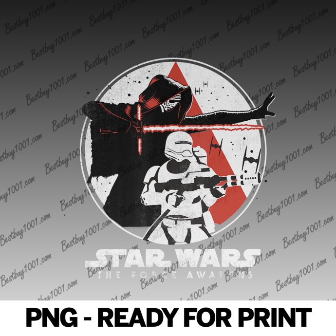 Star Wars The Force Awakens Battle Pose png
