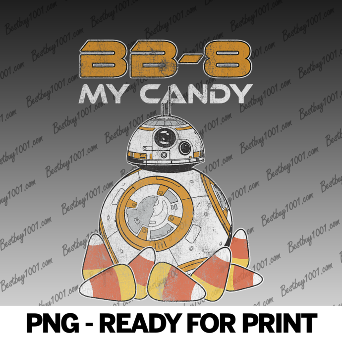 Star Wars The Force Awakens BB-8 My Candy Halloween png