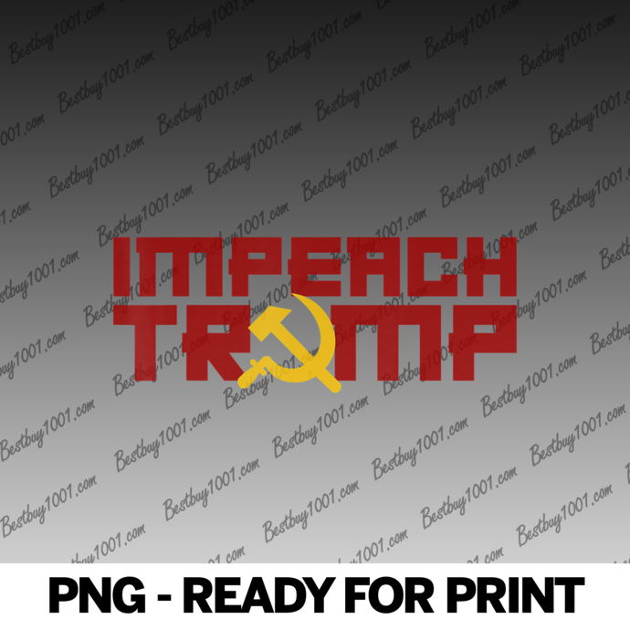 IMPEACH TRUMP Hammer Sickle USSR Soviet Meme Russian
