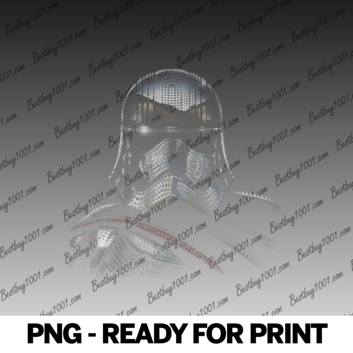 Star Wars The Force Awakens Captain Phasma Dotted Portrait png