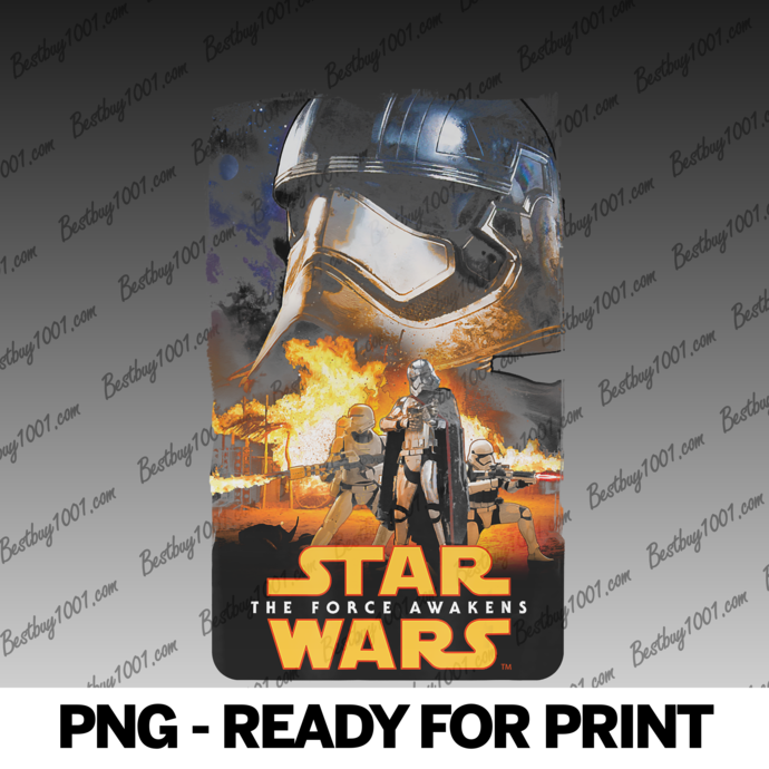 Star Wars The Force Awakens Captain Phasma Fire Portrait png
