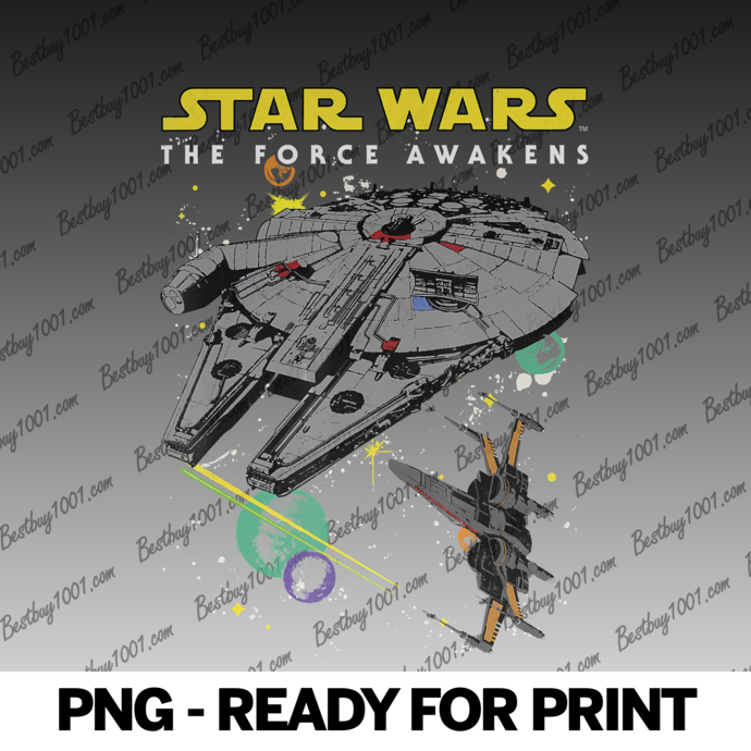 Star Wars The Force Awakens Classic Ships png