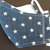 Don't Touch Your Face™ Bamboo Lined Barrier Masks-denim stars