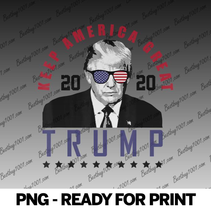 Keep America Great 2020 President Donald Trump Tee