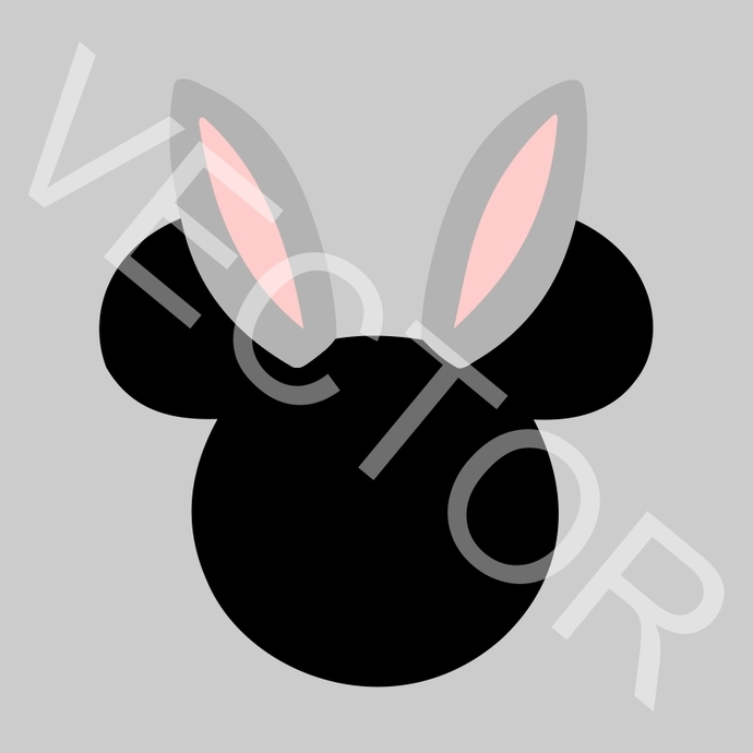 Easter Mickey Mouse Disney Graphics SVG Dxf EPS Png Cdr Ai Pdf Vector Art