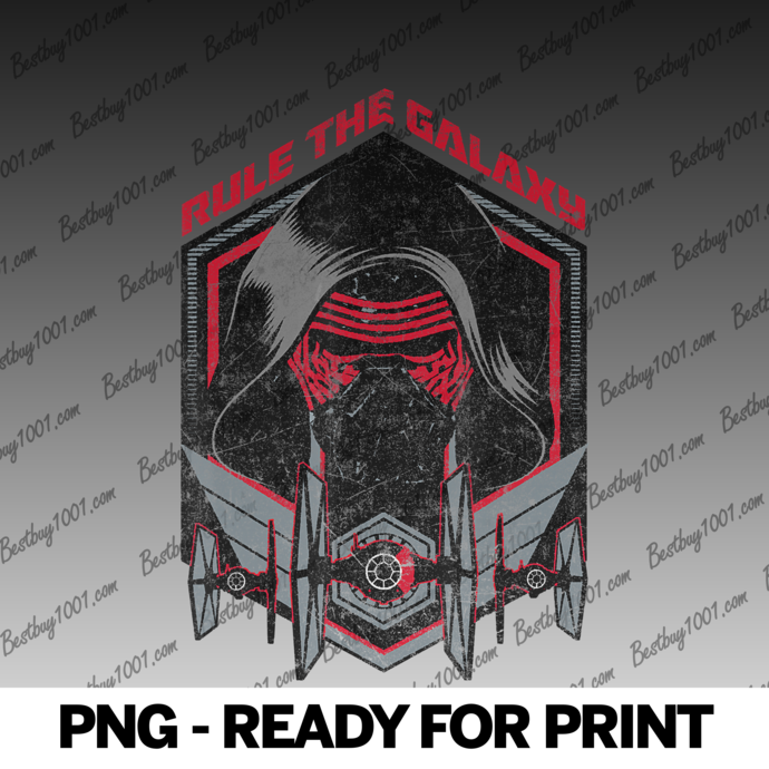 Star Wars The Force Awakens Kylo Ren Rule The Galaxy png