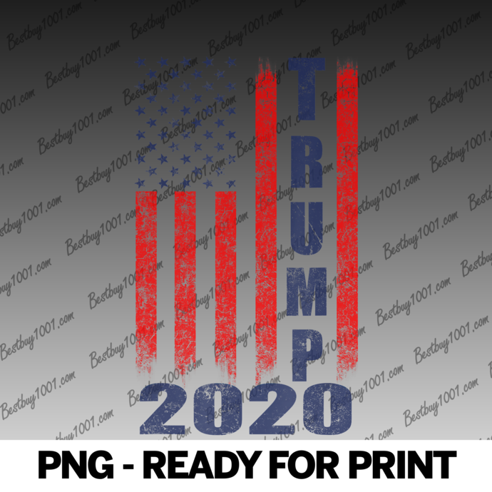 Nice American Flag Design Trump 2020