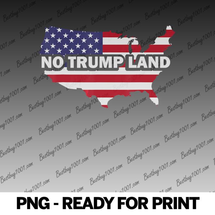 No Trump Land American Continent Shirt Presidential 2020