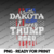 North Dakota for Trump 2020 American Flag USA