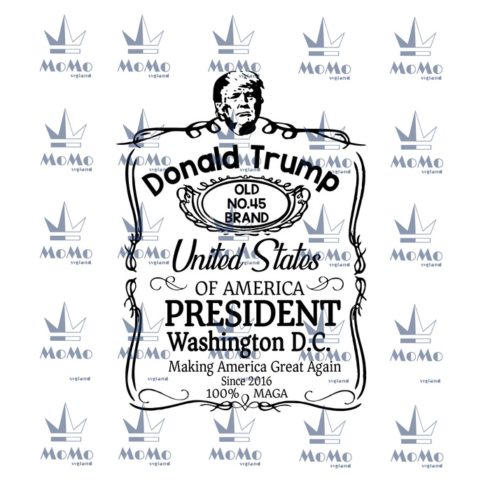 Trump 2020, The Sequel -Digital download SVG, President Trump 2020, Republican