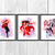 Scarlet Witch Marvel Comics, superhero, Scarlet Witch print poster, home decor,