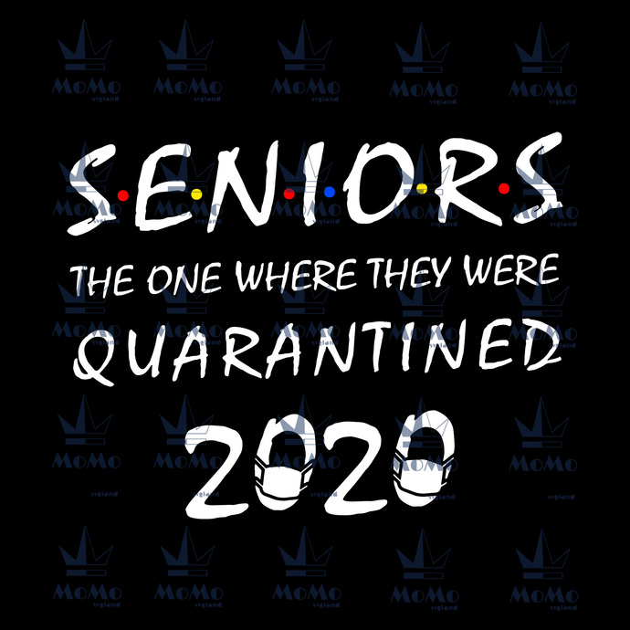 Juniors svg, the one where they were quarantined 2020, virus svg, quarantined,