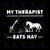 My therapist, eats hay, horse svg, horse lover, digital download, svg