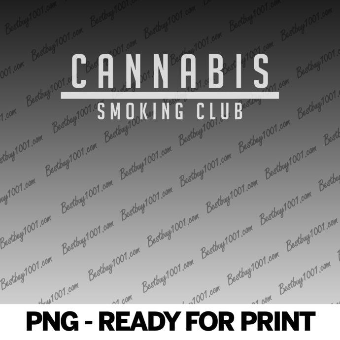 Cannabis Smoking Club Weed Shirt - Marijuana Lover png
