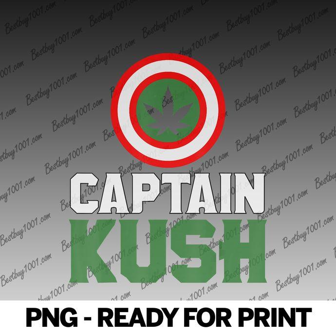 Captain Kush Marijuana Cannabis WeedPot Ganja Stoner png
