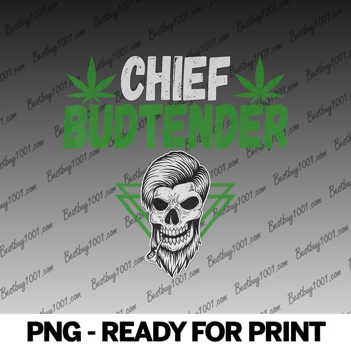 Chief Budtender Marijuana Cannabis 420 Dispensary PotWeed png