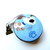 Tape Measure Cartoon Dogs on Blue Small Retractable Measuring Tape