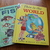 Vintage- Hard to Find: 1961 Wonder Book of Fish &  1957 This is the World