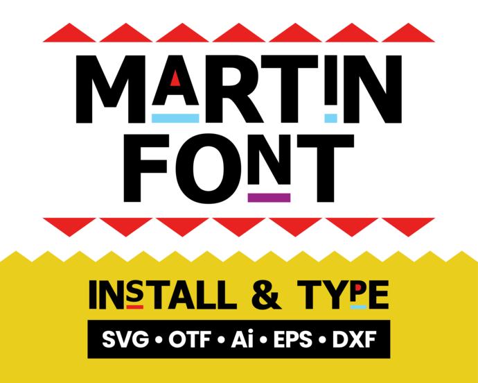 Martin font SVG, Martin svg font, Martin tv show font, Martin tv show text,