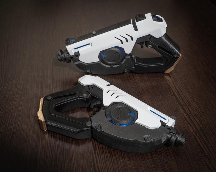 Tracers Gun Replica black&white | Tracers Pulse Pistols