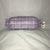 Purple Plaid Plastic Bag Holder