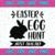 Easter egg hunt just ahead SVG, Bunny SVG, Easter SVG, Easter Bunny Svg, Happy