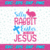 Silly rabit easter is for jesus SVG, Bunny SVG, Easter SVG, Easter Bunny Svg,