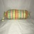 Yellow Floral Striped Plastic Bag Holder