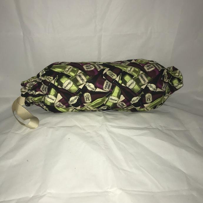 Wine Bottle Plastic Bag Holder