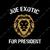 Joe Exotic For President  SVG, Joe Exotic For President  PNG, Joe Exotic For