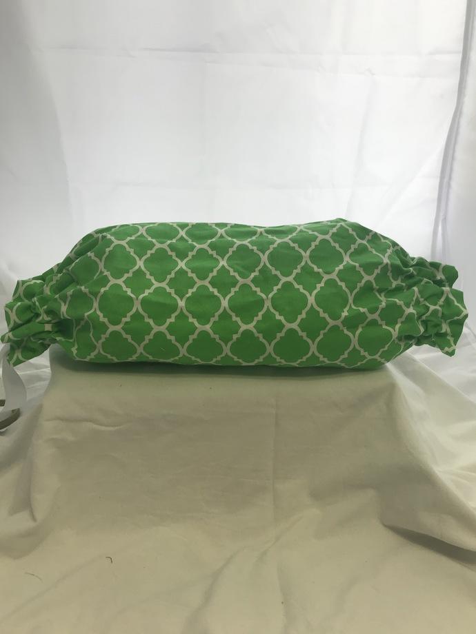 Green Tile Plastic Bag Holder
