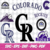 Colorado Rockies Cut Files, SVG Files, Baseball Clipart, Cricut Colorado