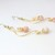 Pink Zebra Agate Earrings Gemstones Wire work Jewelry