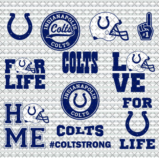 Indianapolis colts Svg, Football Team Logo Svg, Football Svg, NCAA Svg, NFL Svg,