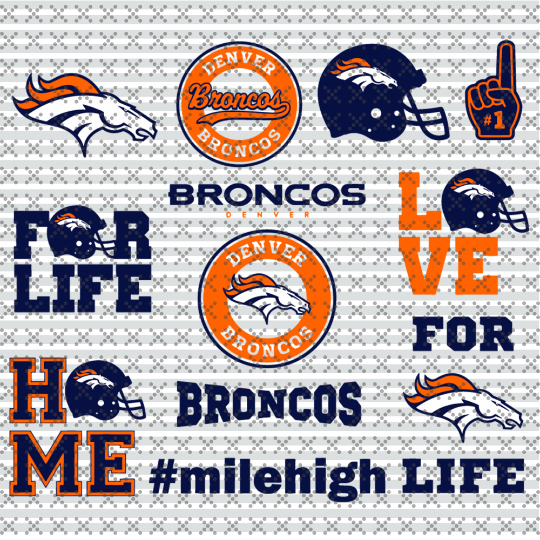 Broncos denver Svg, Football Team Logo Svg, Football Svg, NCAA Svg, NFL Svg,