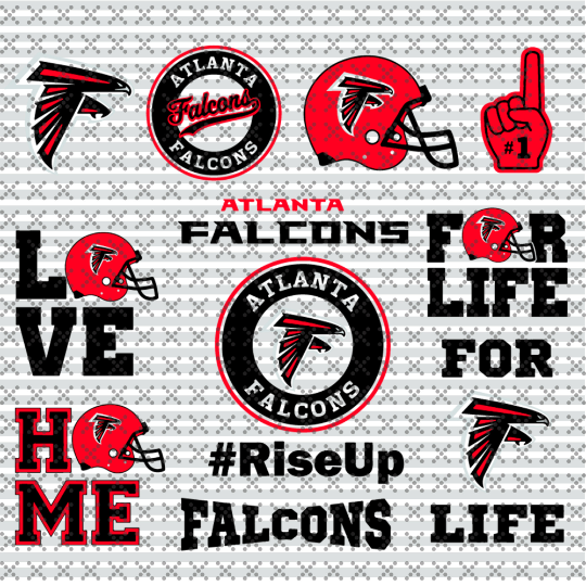 Atlanta falcons Svg, Football Team Logo Svg, Football Svg, NCAA Svg, NFL Svg,
